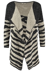 Molly Bracken Cardigan Zebre Black