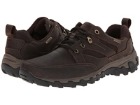 Rockport Cold Springs Plus Mudguard Oxford Dark Brown Oiled Nubuc Men's Lace Up Casual Shoes