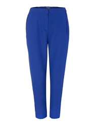Pied A Terre Elasticated Detailed Trouser Cobalt