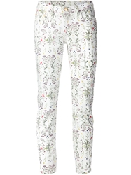 Closed Floral Print Skinny Jeans