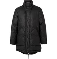 Hunter Coated Shell Down Coat Black