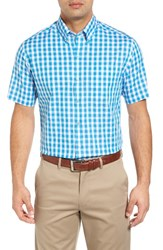 Cutter And Buck Men's Big Tall Los Rios Regular Fit Check Sport Shirt