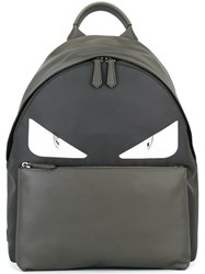 Fendi Bag Bugs Backpack Grey