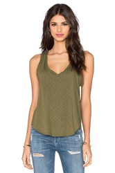 Twenty Cotton Slub Jersey Tank Army