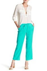Nydj Jamie Relaxed Ankle Flared Pant Blue