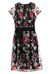 Wal G G. Summer Dress Red Multicoloured
