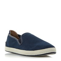 Lacoste Tombre Slip On Suede Espadrille Navy