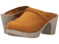 Calou Stockholm Sally Mustard Women's Shoes Yellow