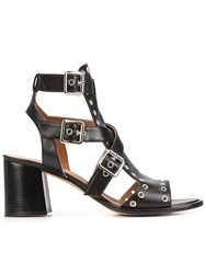 Derek Lam Strappy Sandals Black