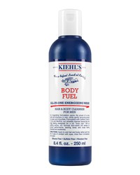 Body Fuel All In One Energizing Wash For Hair And Body 8.4 Oz. Kiehl's Since 1851