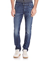 Hudson Faded Straight Leg Jeans North Swell