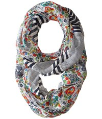 Tommy Bahama Lille Infinity White Scarves