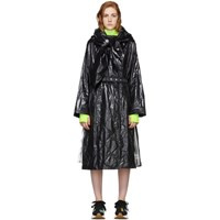 Moncler Genius 2 1952 Black Canberra Coat