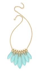 Alexis Bittar Articulated Spear Bib Necklace Ice