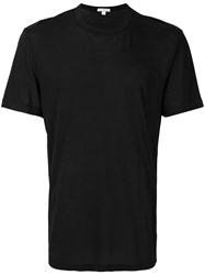 James Perse Classic Short Sleeve T Shirt Black