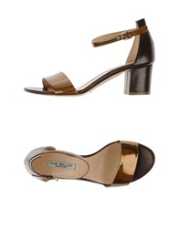 The Seller Footwear Sandals Women Bronze