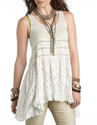 Free People Trapeze Slip Dress White