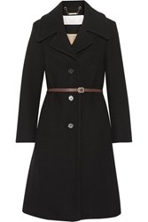 Chloe Iconic Wool Blend Coat Black
