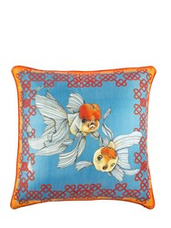 Bivain Joy And Luck Printed Accent Pillow