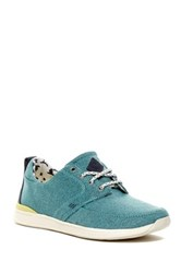 Reef Rover Low Lace Up Sneaker Blue