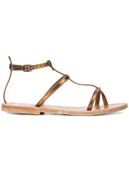 K. Jacques Gina Sandals Brown