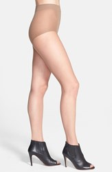 Women's Donna Karan 'The Nudes' Control Top Toeless Hosiery B04