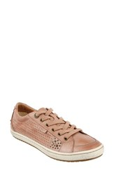 Taos 'S 'Freedom' Sneaker Blush Leather