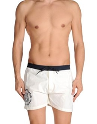 Cooperativa Pescatori Posillipo Swimming Trunks Ivory