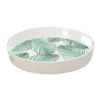 Epicurean Amazon Floral Tropical Tea Tray