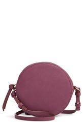 Chelsea 28 Chelsea28 Cassie Faux Leather Circle Crossbody Bag Purple Purple Crystal