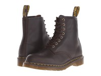 Dr. Martens 1460 8 Eye Boot Soft Leather Chocolate Carpathian Men's Lace Up Boots Brown