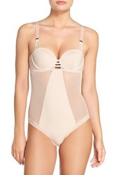 Bluebella Women's Laura Underwire Bodysuit Rose Dust