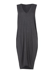 Label Lab Links Cocoon Jersey Dress Charcoal Marl