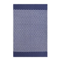 Hug Rug Trellis 100 Recycled Navy Blue