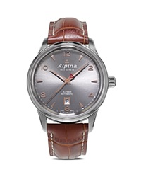 Alpina Alpiner Automatic Watch 41.5Mm Brown
