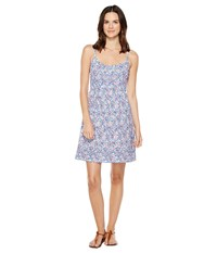 Tommy Bahama Edessa Blooms Short Sundress Graceful Sea Women's Dress Blue