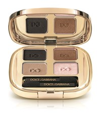 Dolce And Gabbana Makeup Smooth Eyeshadow Quad Smoky Female