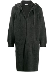 Valentino Long Hooded Cardigan 60
