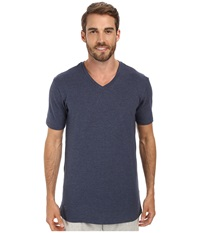 Lacoste Pique Lounge Short Sleeve Pique Navy Melange Men's Short Sleeve Pullover