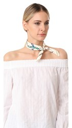 Tory Burch Rope Scarf New Ivory