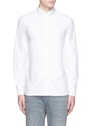 Denham Jeans 'Rhys' Cotton Oxford Shirt White