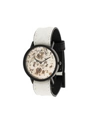 South Lane Avant Unique Watch Calf Leather Stainless Steel White