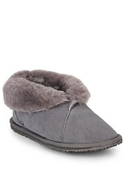 Emu Talinga Shearling Lined Ankle Boots Charcoal
