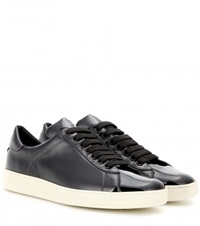 Tom Ford Patent Leather Sneakers Black