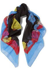 Emilio Pucci Printed Cotton Scarf Multi