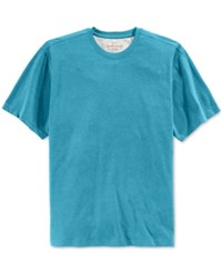 Weatherproof Men's Big And Tall Ryland Crew Neck Short Sleeve Shirt Only At Macy's Norse Blue