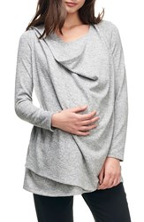 Maternal America Maternity Nursing Wrap Top