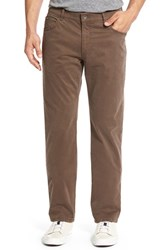 Brax Men's Big And Tall Cooper Stretch Pima Cotton Pants Nut