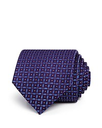 Bloomingdale's The Men's Store At Petal Geometric Neat Classic Tie 100 Exclusive Purple