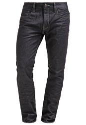 Petrol Industries Straight Leg Jeans Rinsed Dark Blue